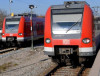 S-Bahn im Bahnhof Höhenkirchen-Siegertsbrunn