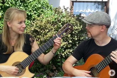 Elke Pautsch und Mathias Pflug