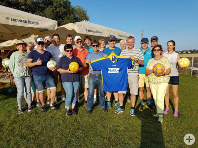 Torpedo-Ausflug zum Soccer-Golf in Zorneding im August 2019