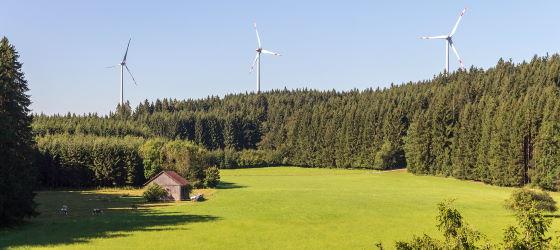 Windenergie im Höhenkirchener Forst
